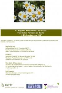 4 Congreso de Fitoterapia de la SEFIT