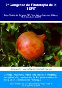 Congreso y Jornada Alicantina de Fitoterapia