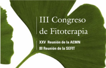 3er Congreso Fitoterapia SEFIT