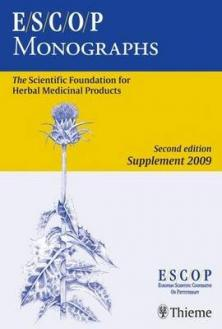 ESCOP Monographs 2ed-Suppl.