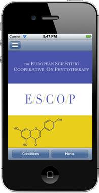 App ESCOP fitoterapia