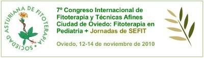 7º Congreso Internacional de Fitoterapia y Técnicas Afines Ciudad de Oviedo: Fitoterapia en Pediatria - Jornadas SEFIT