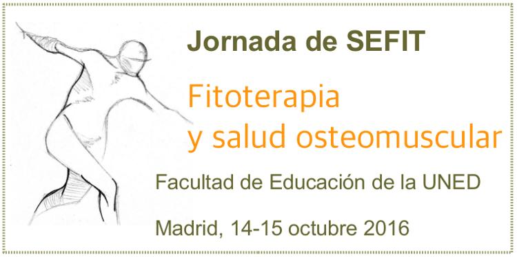 Jornada de SEFIT Fitoterapia y salud osteomuscular