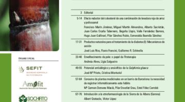 Revista de Fitoterapia 2016; 16 (1): Sumario
