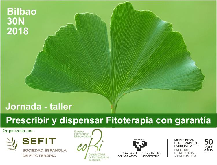 Jornada de Fitoterapia de SEFIT: Bilbao 2018