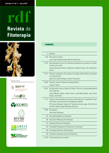 Revista de Fitoterapia