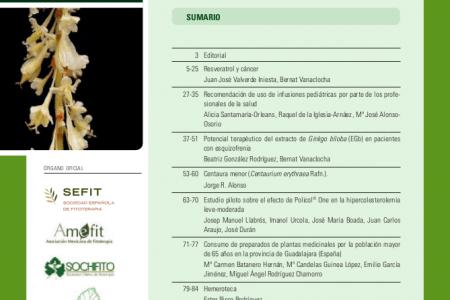 Revista de Fitoterapia 2107; 17 (1)