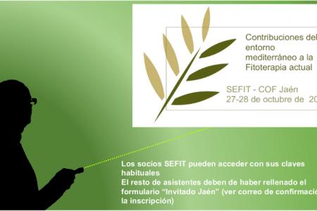 Presentaciones Jornada de Jaén: Contribuciones del entorno mediterráneo a la Fitoterapia actual