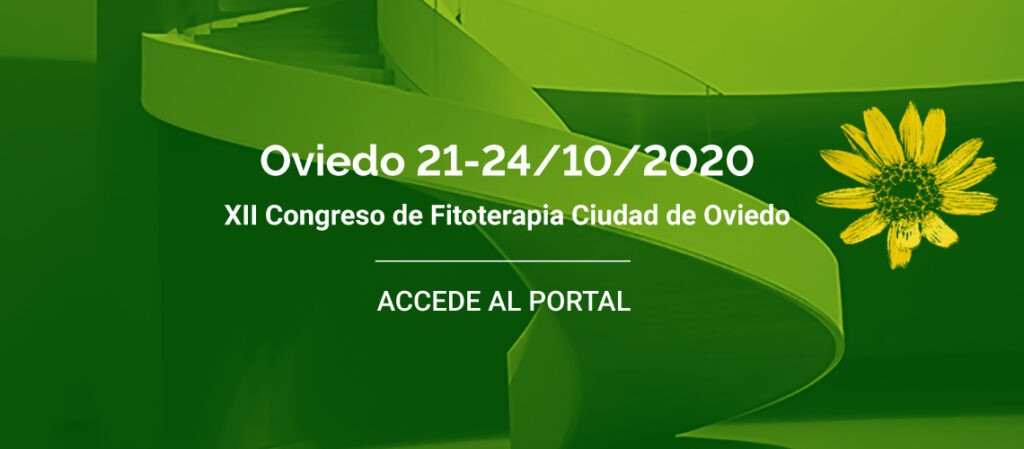 XII Congreso de Fitoterapia Ciudad de Oviedo 2020